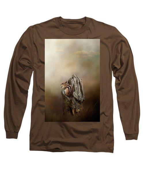 Woodland Visitor Long Sleeve T-Shirt