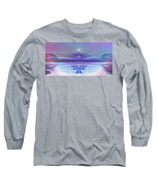 934 - Magic Light Beacon 2017 Long Sleeve T-Shirt by Irmgard Schoendorf Welch