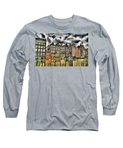 Amsterdam Water Canals Long Sleeve T-Shirt