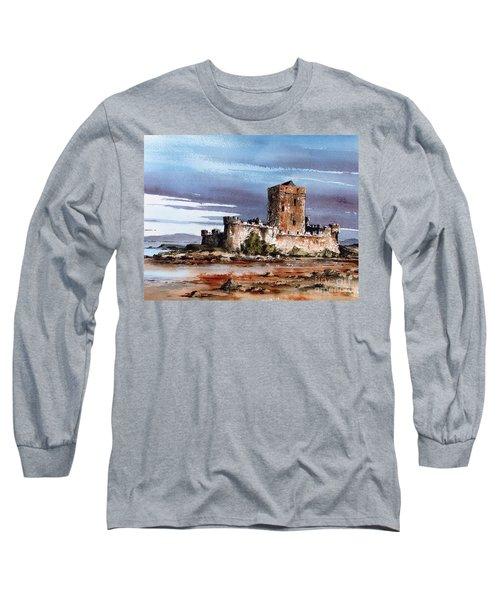 Doe Castle In Donegal Long Sleeve T-Shirt