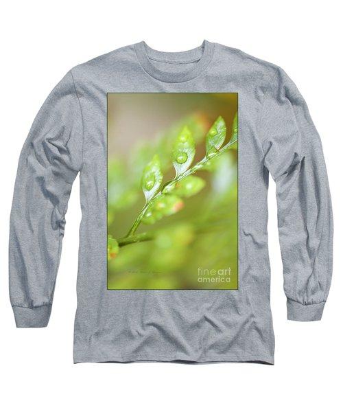 Fern Fronds Long Sleeve T-Shirt