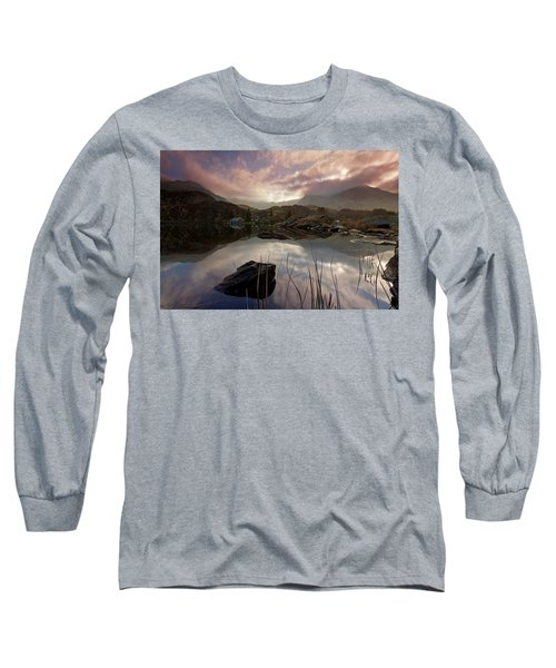 Llyn Ogwen Sunset Long Sleeve T-Shirt