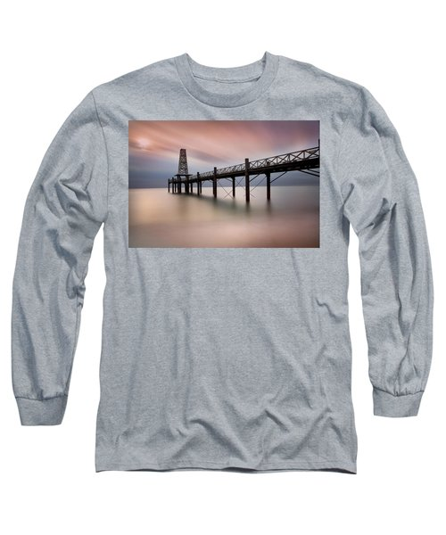 Wooden Pier Long Sleeve T-Shirt