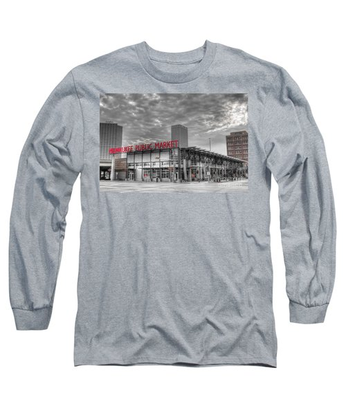 0038 Milwaukee Public Market Long Sleeve T-Shirt