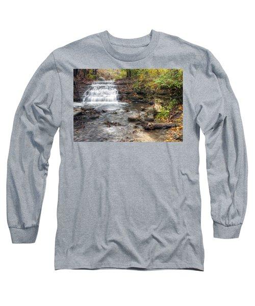 0278 South Elgin Waterfall Long Sleeve T-Shirt