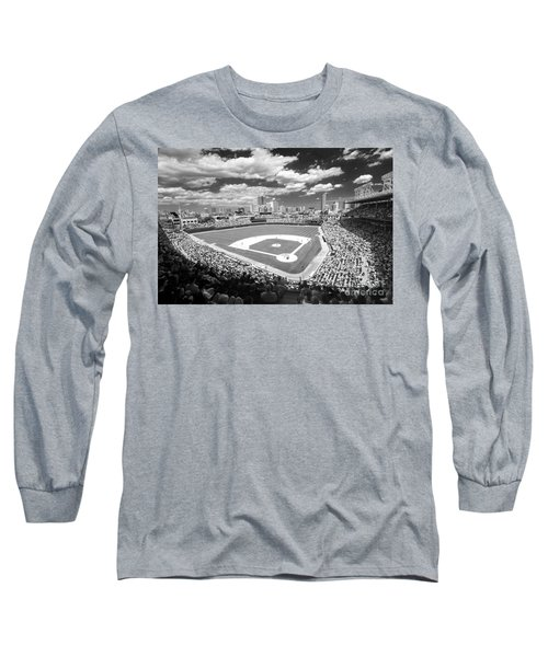 0416 Wrigley Field Chicago Long Sleeve T-Shirt