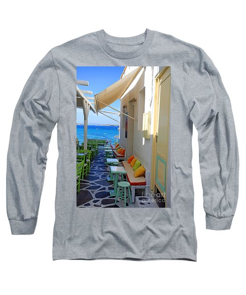 0560 Mykonos Greece Long Sleeve T-Shirt