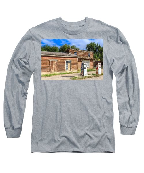 Abandoned Mining Buildings Long Sleeve T-Shirt