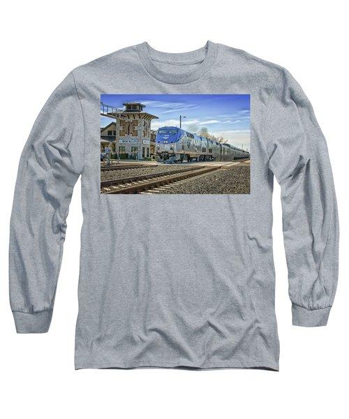 Amtrak 112 Long Sleeve T-Shirt by Jim Thompson