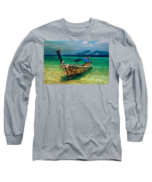Asian Longboat Long Sleeve T-Shirt