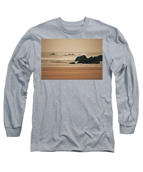 Beach Long Sleeve T-Shirt
