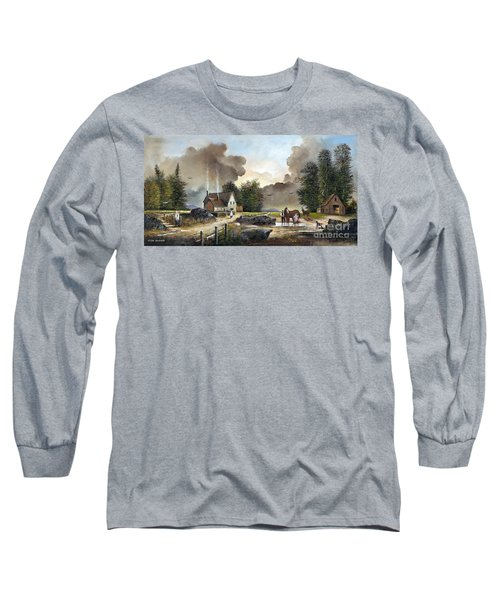 Bodmin Farm Long Sleeve T-Shirt