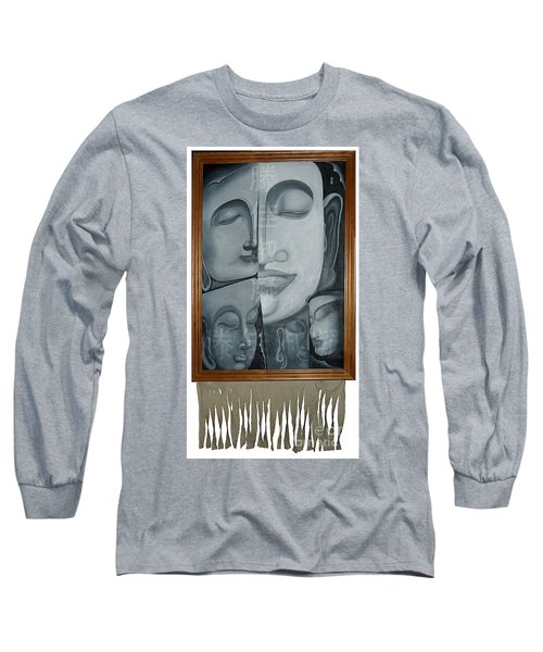 Buddish Facial Reactions Long Sleeve T-Shirt