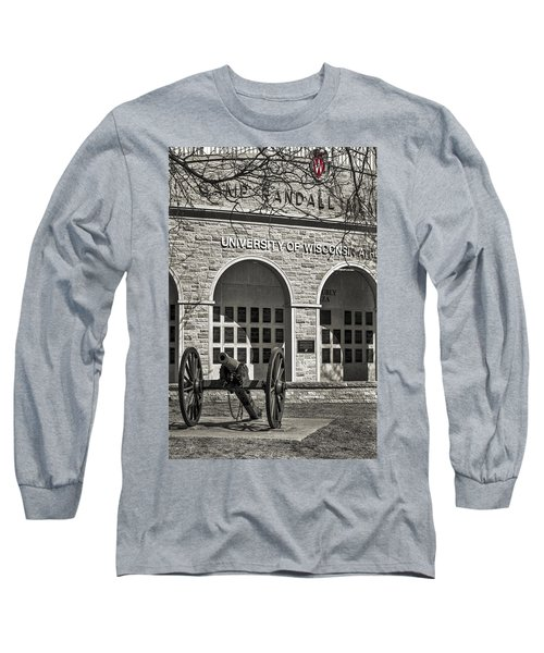 Camp Randall - Madison Long Sleeve T-Shirt by Steven Ralser