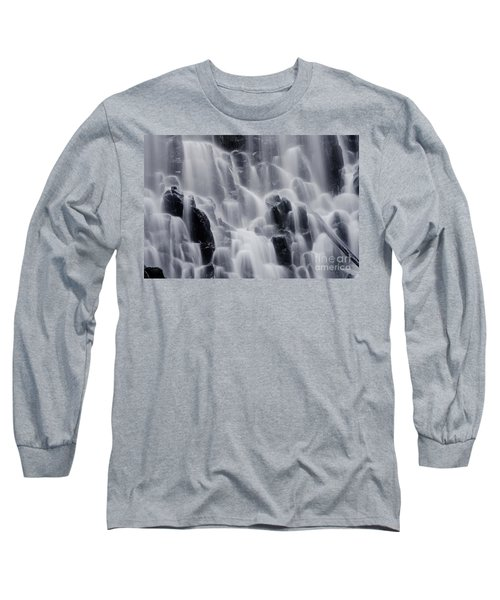 The Land Of Tumbling Waters Long Sleeve T-Shirt by Nick  Boren