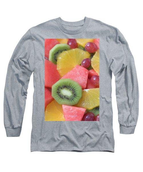 Colourful Fruit Salad (full-frame) Long Sleeve T-Shirt