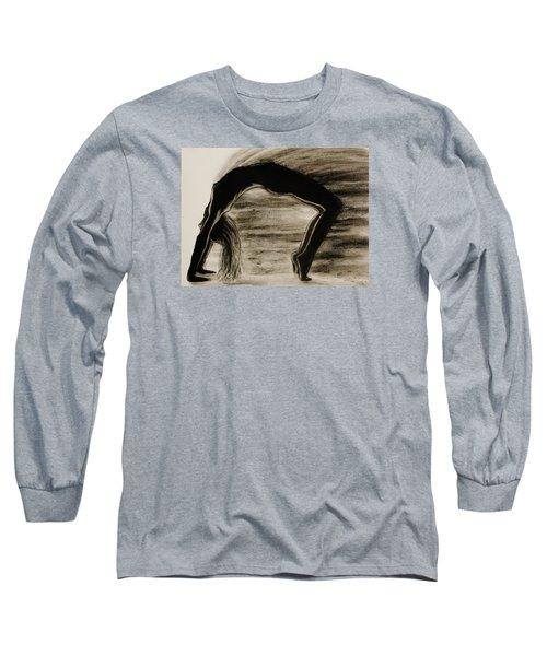 Coming Apart 6 Long Sleeve T-Shirt by Michael Cross