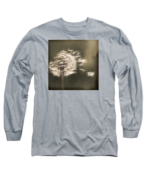 Dandelion Long Sleeve T-Shirt by Yulia Kazansky