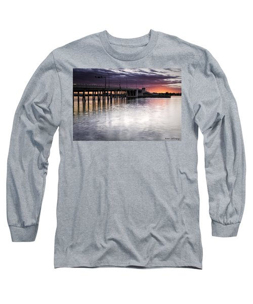 Drawbridge At Sunset Long Sleeve T-Shirt