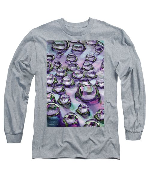 Long Sleeve T-Shirt featuring the photograph Dropscape by WB Johnston