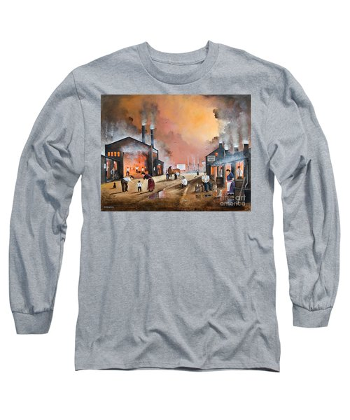 Dudleys By Gone Days Long Sleeve T-Shirt