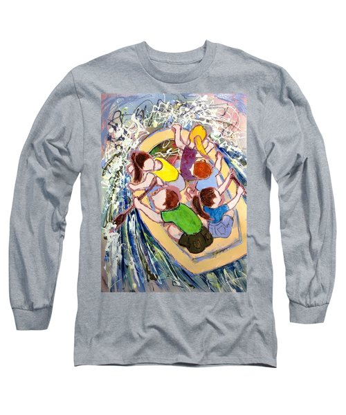 Family Vacation Long Sleeve T-Shirt by Marilyn Jacobson