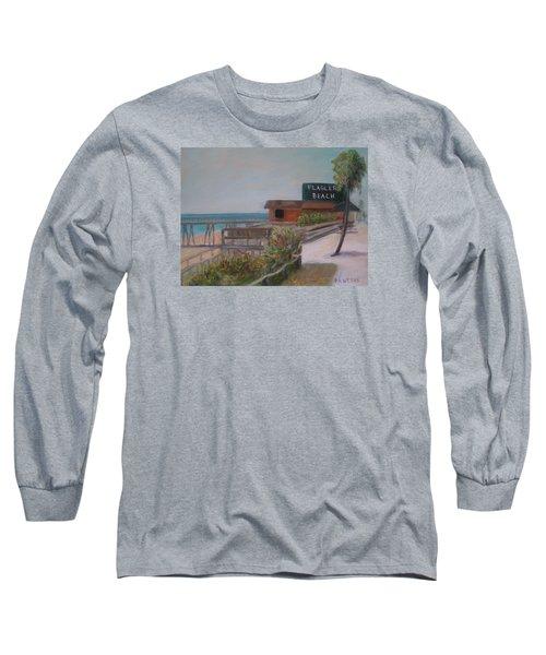 Flagler Beach Long Sleeve T-Shirt