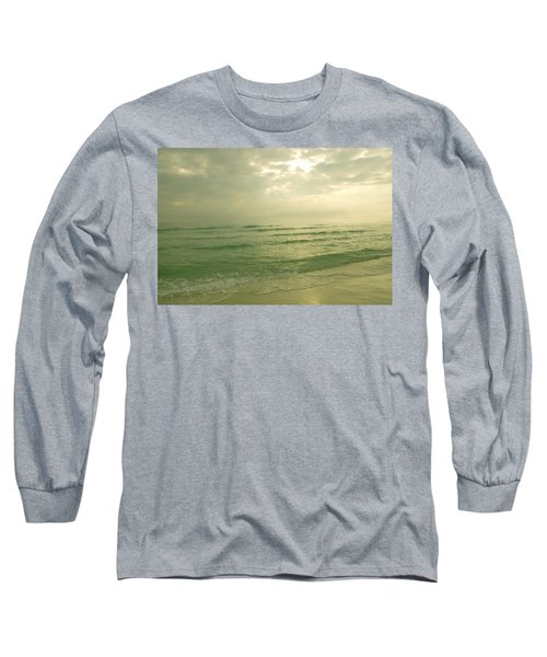 Long Sleeve T-Shirt featuring the photograph Florida Beach by Charles Beeler