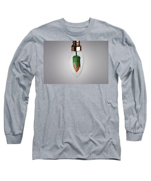 Flower In Bulb Long Sleeve T-Shirt
