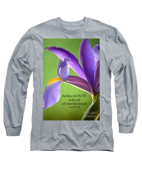 Hope Long Sleeve T-Shirt by Deb Halloran