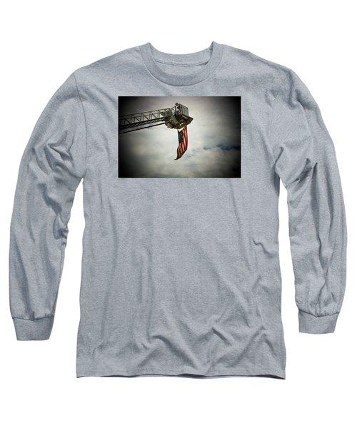 In Honor Long Sleeve T-Shirt by Susan  McMenamin