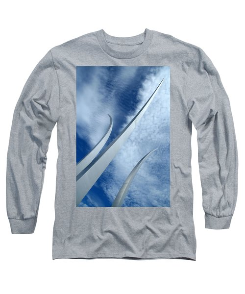 Long Sleeve T-Shirt featuring the photograph Into The Clouds by Cora Wandel