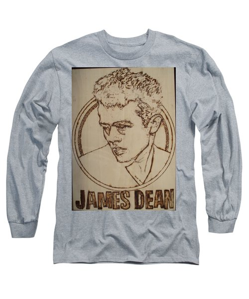 James Dean Long Sleeve T-Shirt by Sean Connolly