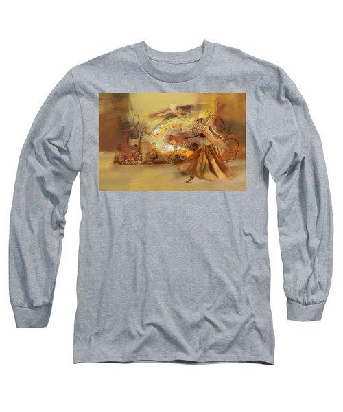 Kathak Dancer 4 Long Sleeve T-Shirt