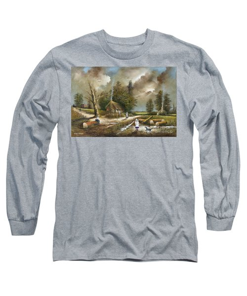 Lightening Tree Long Sleeve T-Shirt