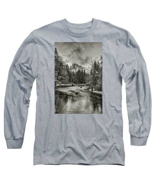Ascending Clouds Toned Long Sleeve T-Shirt