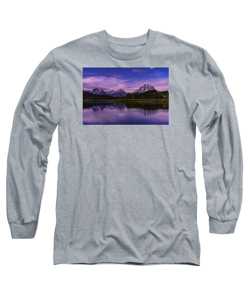 Moonlight Bend Long Sleeve T-Shirt by Chad Dutson