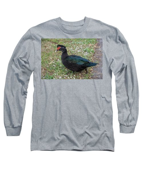 Muscovy Ducks Long Sleeve T-Shirt