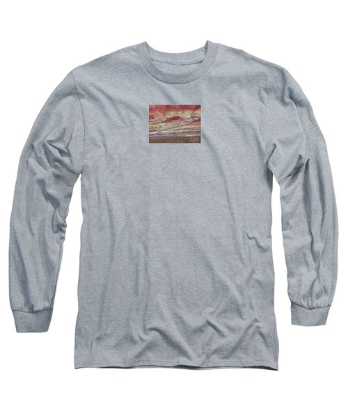 John Day Fossil Beds Painted Hills Long Sleeve T-Shirt by Michele Penner