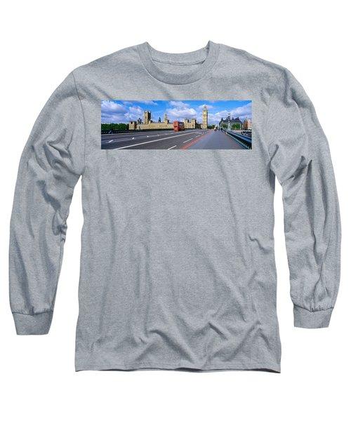 Parliament Big Ben London England Long Sleeve T-Shirt