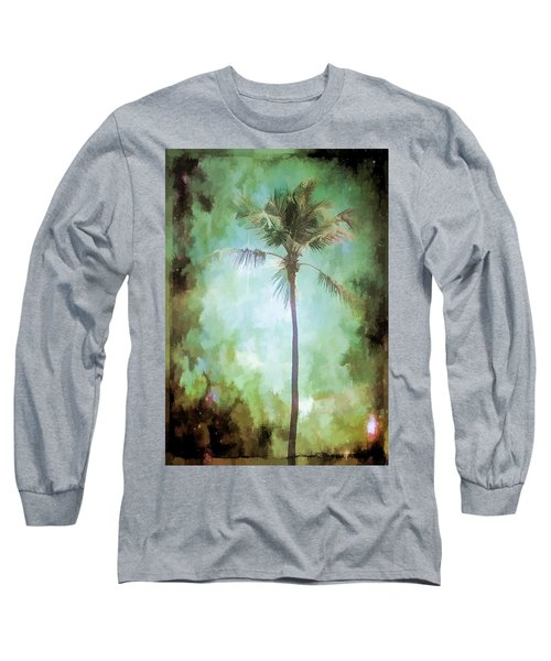 Long Sleeve T-Shirt featuring the photograph Pleasant Night To Be Alone by Jan Amiss Photography