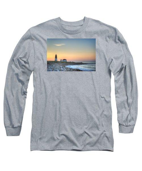 Point Judith Lighthouse Long Sleeve T-Shirt