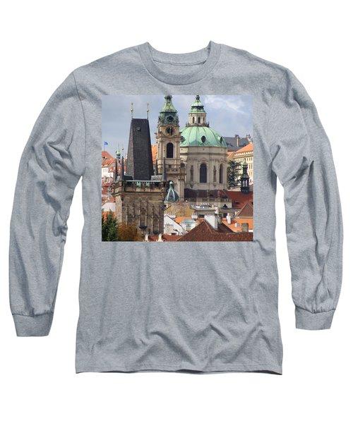 Long Sleeve T-Shirt featuring the photograph Prague by Ira Shander