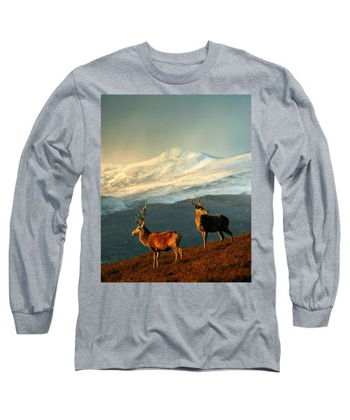 Red Deer Stags Long Sleeve T-Shirt