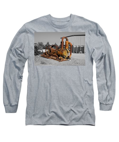Retired Petroleum Pump Long Sleeve T-Shirt
