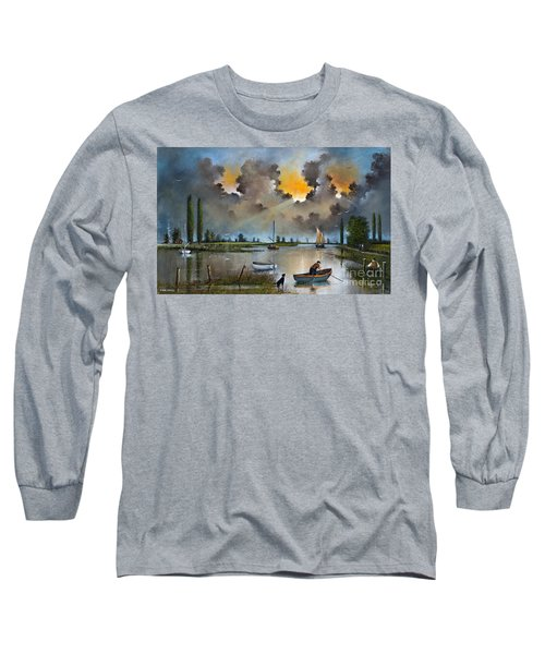 River Yare On The Broads Long Sleeve T-Shirt