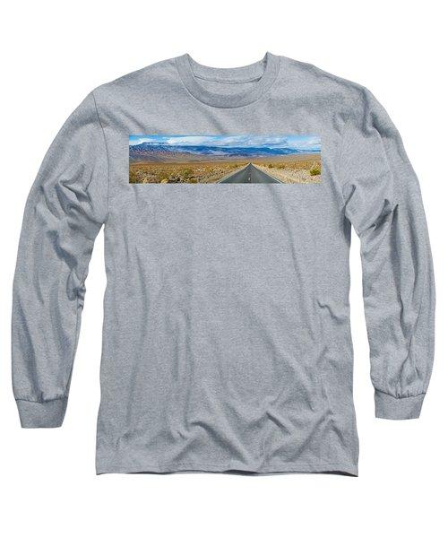 Road Passing Through A Desert, Death Long Sleeve T-Shirt