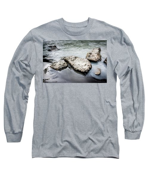 Rocks In The River Long Sleeve T-Shirt