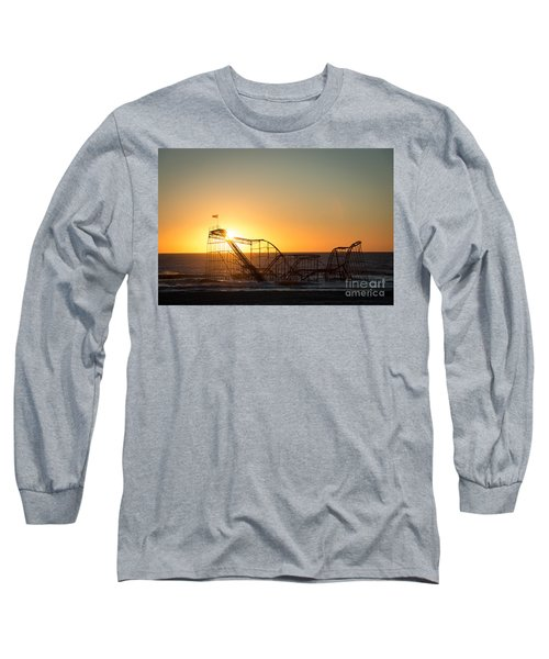 Roller Coaster Sunrise Long Sleeve T-Shirt