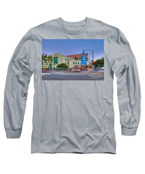 Roy E. Disney Animation Building In Burbank Ca. Long Sleeve T-Shirt